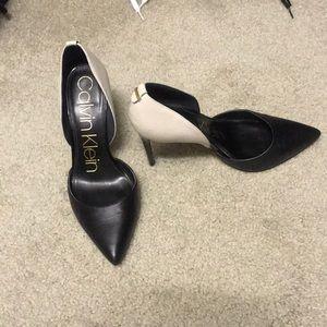 Calvin Klein heels size 7.5